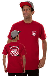Vans x Independent Tools Of The Trade T-Shirt (cardinal)