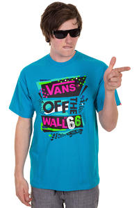 Vans Stenciled II T-Shirt (turquoise)