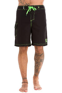 Hurley One & Only Boardshorts (black neon green)