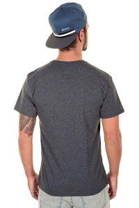 Hurley Pier Waves T-Shirt (heather black)