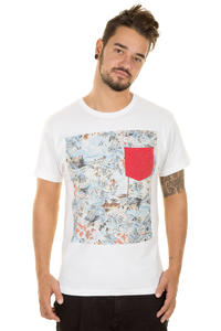 Hurley Aloha Pocket T-Shirt (white)