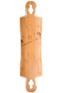 """Hackbrett Höllental Bambus 40.16"""" (102cm) Longboard Deck"""