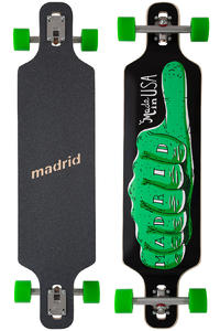 "Madrid D.T.F. 2 DT Thumps Up 40"" (101,6cm) Komplett-Longboard"