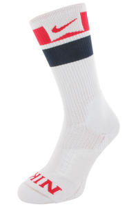 Nike SB Elite Skate Crew Socken US 6-12  (white)