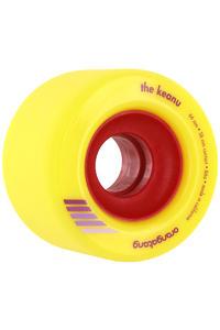 Orangatang The Keanu 66mm 86A Rollen (yellow) 4er Pack