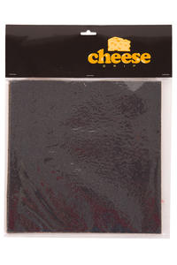 "Cheese Gritty 11"" x 11"" Griptape (black) 4er Pack"