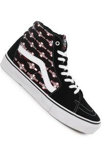 Vans x Independent Sk8-Hi Pro Suede Shoe (black)