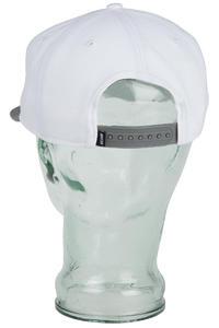 Nike SB Icon Snapback Cap (white medium base grey)