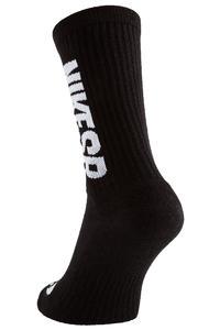 Nike SB Crew Socks US 2-14,5 (black white) 3 Pack