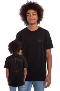 Polar Skateboards Stroke Logo T-Shirt (black)