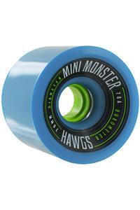 Hawgs Mini Monster 70mm 78A Rollen 2014 (blue) 4er Pack