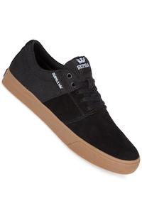 Supra Stacks Vulc II Suede Schuh (black gum)