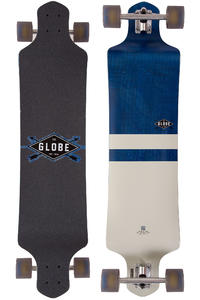 "Globe Geminon Drop-Down 41"" (104cm) Complete-Longboard (blue diamond white)"