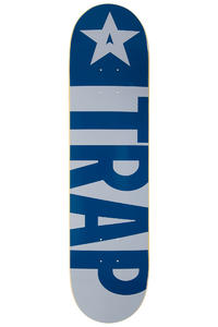 "Trap Skateboards Big Flag 7.75"" Deck (blue)"