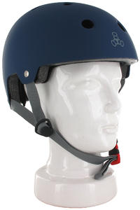 Triple Eight Brainsaver Helm (blue rubber)