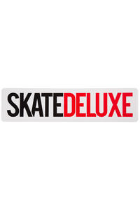 SK8DLX Logo 40 cm Sticker (white)