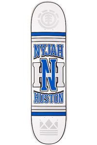 "Element Huston Monogram 8"" Deck (white blue)"
