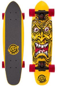 "Santa Cruz Sidewalk Screamer Rob Face 6.4"" x 25.3"" Cruiser (yellow)"