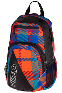 Nitro Lection Backpack 25L (plaid red blue)