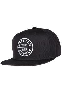 Brixton Oath III Snapback Cap (black)