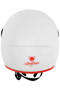 TSG Pass Solid Color Helm (gloss white)
