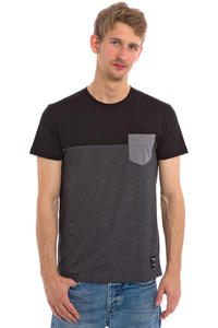 Iriedaily Block Pocket T-Shirt (black)
