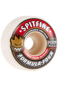 Spitfire Formula Four Classic 52mm Rollen (white red) 4er Pack