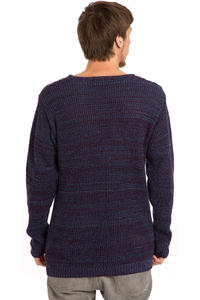 Cleptomanicx Multicolor Sweatshirt (blue)