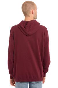 Cleptomanicx New Bro Hoodie (burgundy)
