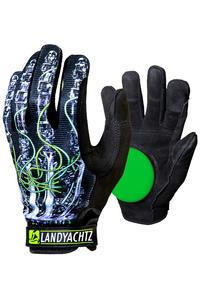 Landyachtz Robot Freeride Slide Handschuhe (robot print)