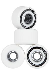 Hawgs Boss 70mm 80A Rollen (white grey) 4er Pack