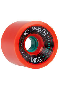 Hawgs Mini Monster 70mm 84A Rollen (orange) 4er Pack
