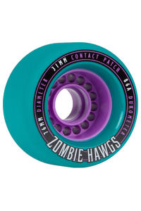Hawgs Zombies 76mm 86A Wheel (teal) 4 Pack