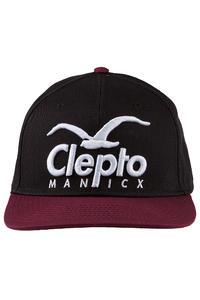 Cleptomanicx Super CI Snapback Cap (pirate black)