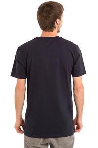 Cleptomanicx Abstrakt Zitrone T-Shirt (dark navy)