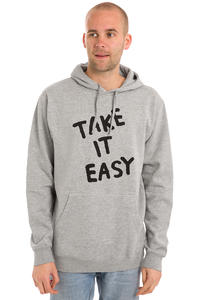 Cleptomanicx Take It Easy Hoodie (heather grey)