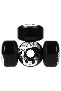 Bones Po Bear 56mm Rollen 4er Pack  (black)