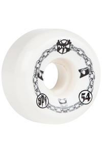 Bones SPF Chained 54mm Rollen 4er Pack  (white)