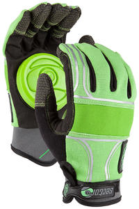 Sector 9 BHNC Slide Gloves (green)