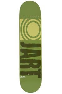 """Jart Skateboards Logo Basic SP14 7.625"""" Deck (green)"""