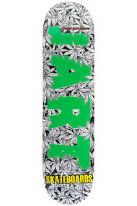 "Jart Skateboards Leaves Logo 8.125"" Deck (green)"