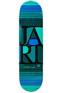 "Jart Skateboards Bars Logo 8.25"" Deck (multi)"