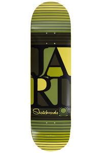 """Jart Skateboards Bars Logo 8.5"""" Deck (multi)"""
