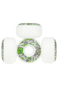 Jart Skateboards Leaves Logo 50mm Rollen 4er Pack  (white light green)