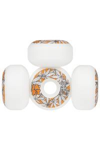 Jart Skateboards Leaves Logo 54mm Rollen 4er Pack  (white orange)