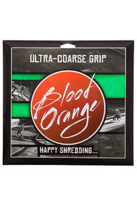 Blood Orange Heavy-Duty Ultra-Coarse Griptape (neon green) 4er Pack
