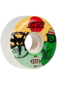 Bones STF Dyet Swamp Thing 53mm Rollen 4er Pack  (white)