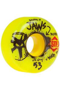 Bones STF Homoki Glory 53mm Rollen 4er Pack (yellow)