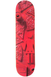 "Girl Capaldi Paint It Black 7.75"" Deck (red)"