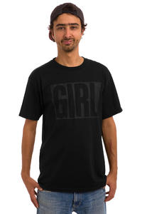 Girl Big Girl Tonal T-Shirt (black)